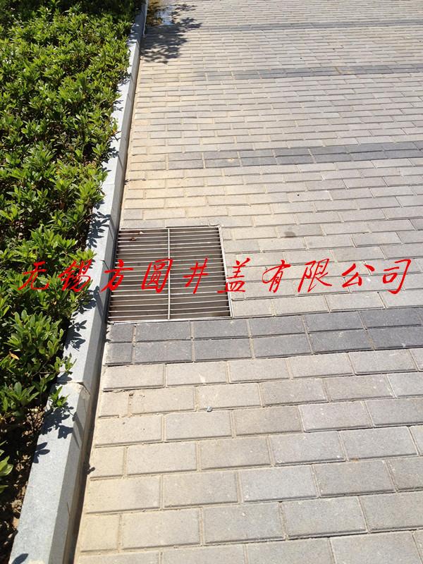 格栅套篦铺砖效果